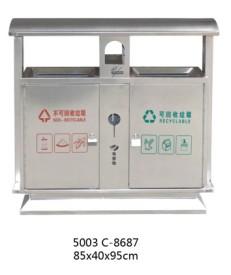 贵阳钢制分类垃圾桶