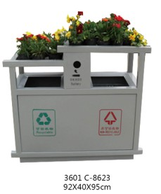 贵阳盆景垃圾桶
