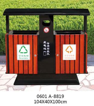贵阳钢木垃圾桶