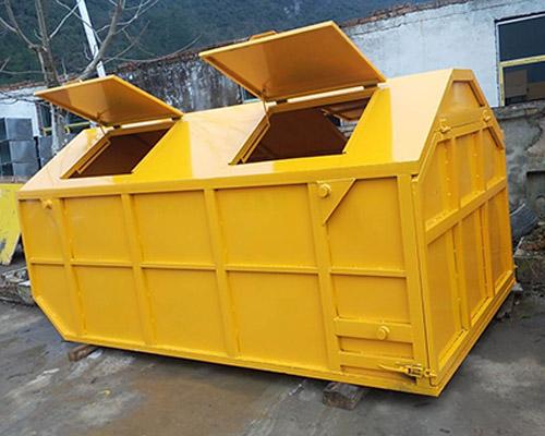 船型斗垃圾箱