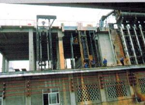 焦炉炉门修理站