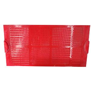聚氨酯軌道扣板式篩板