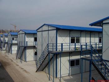 【技巧】山东活动板房钢结构的施工介绍 山东活动板房产品设计材料