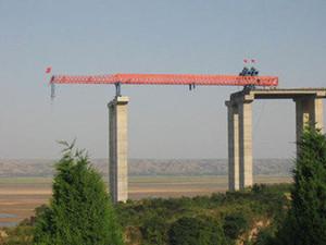 广州双导梁架桥机