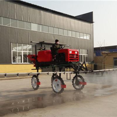 自走式玉米追肥机