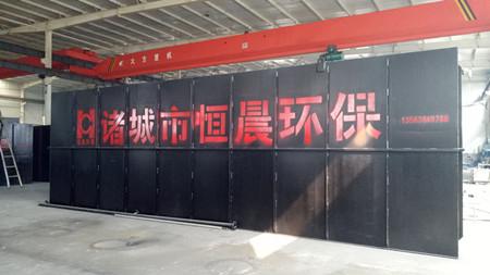 地埋式污水处理设备生产车间