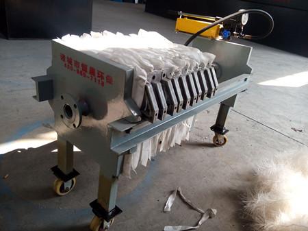 板框压滤机选型