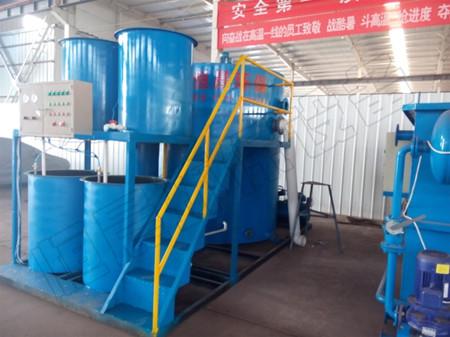 竖流式溶气气浮处理设备