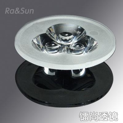 Daylight lamp lens