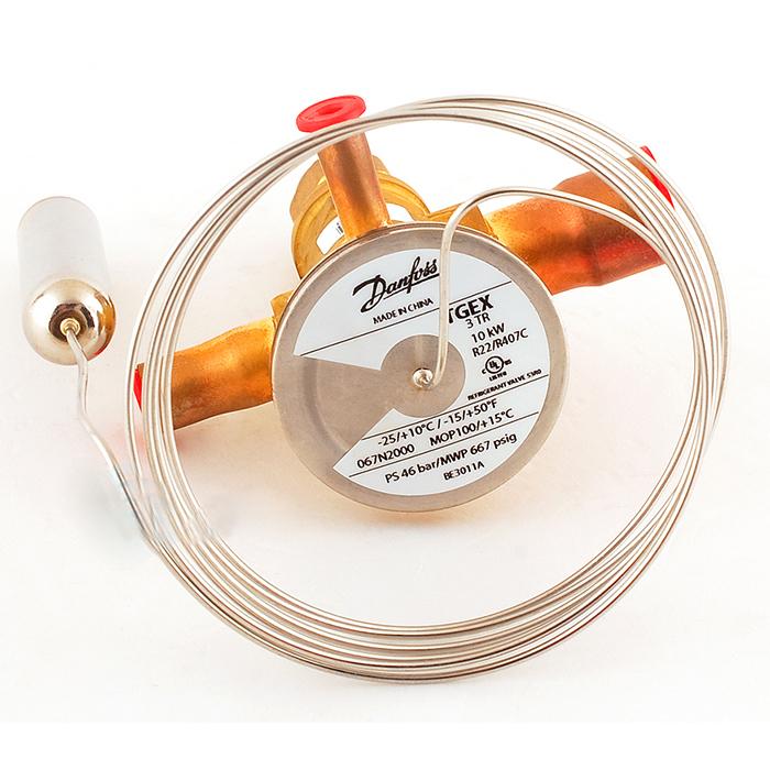 丹佛斯膨脹閥 R22 TGEX3 067N2000 -25℃