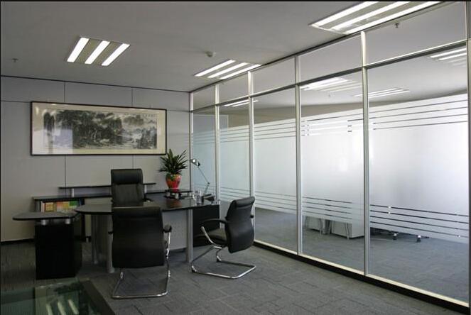 石家庄办公玻璃隔断安装