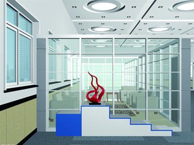 【图文】石家庄玻璃隔断的调整功能_使用的隔断就多为中式风格