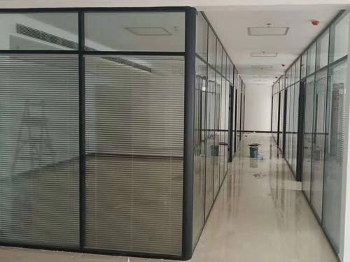 石家庄不锈钢单层玻璃隔断