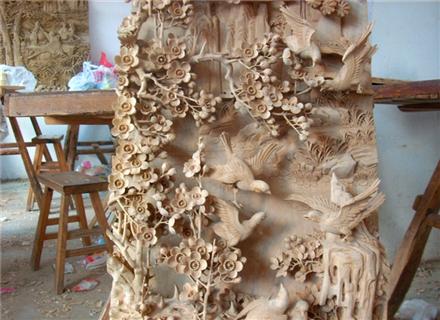 郑州木雕浮雕