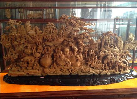 郑州木雕公司