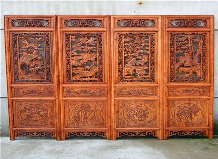郑州木雕屏风