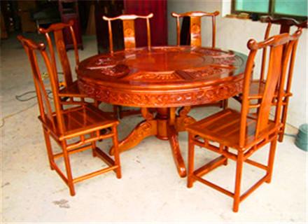 郑州木雕桌椅