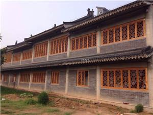 郑州仿古木雕装饰