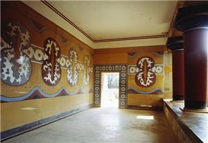 皇宫大厅壁画装修