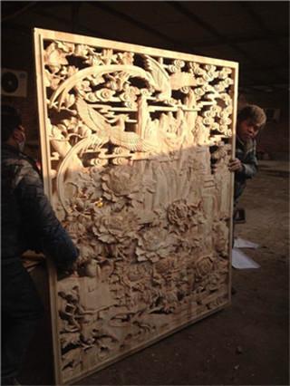 洛宁木雕刻定做