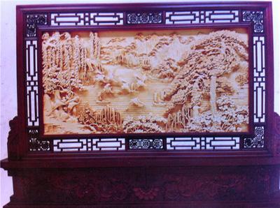 郑州木雕壁画