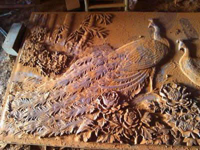 郑州木雕背景墙