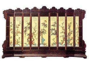郑州古典木雕屏风