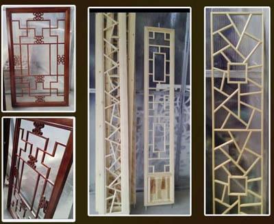 郑州木雕屏风设计