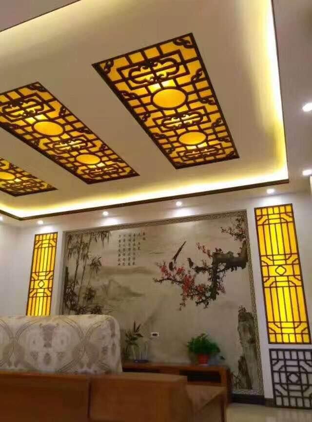 郑州中式木雕花格