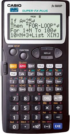 卡西欧計算器