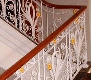 铁艺楼梯扶手制作