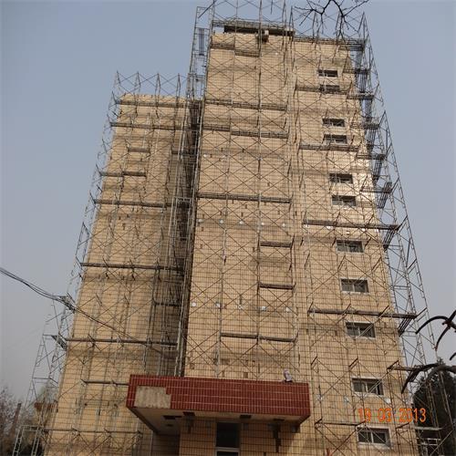 【图片】石家庄脚手架怎么搭建 建筑之脚手架安全技术措施