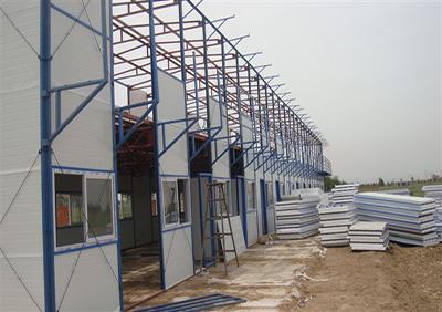 【揭秘】活动板房的两业 施工质量影响构造