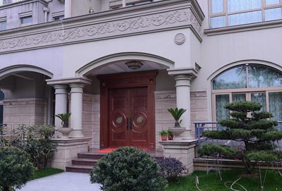 贵阳铸铝别墅门