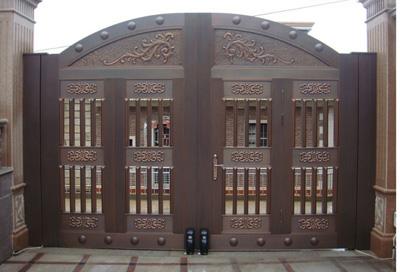 黔西贵阳庭院铜门