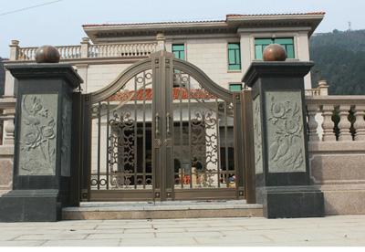贵阳别墅庭院门