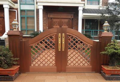 贵州别墅庭院门