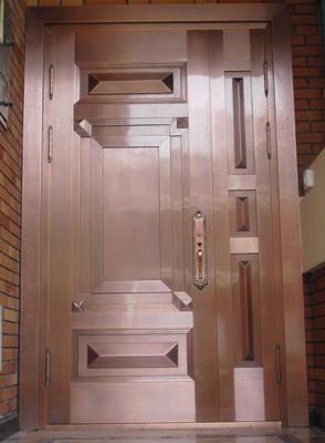 铜仁贵州子母铜门