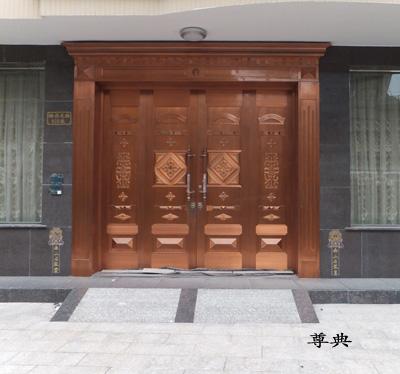 贵州四开铜门