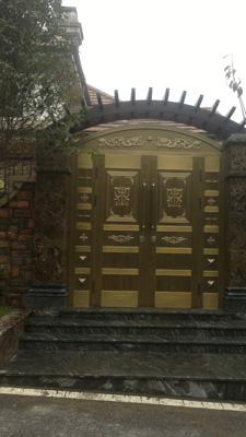 安顺贵阳别墅铜门