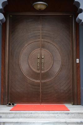 铸铝入户门