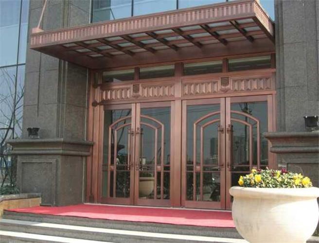 贵阳酒店旋转门