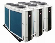 六角棱风冷变频热泵机组