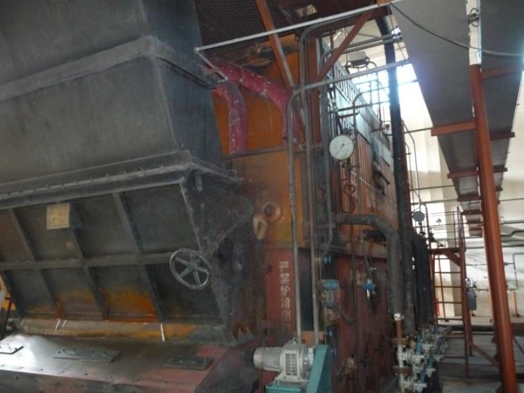 燃气锅炉安装