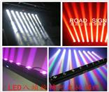 LED八眼旋转光束灯
