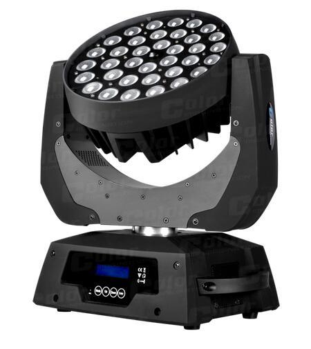 36颗10W四合一全彩LED摇头灯
