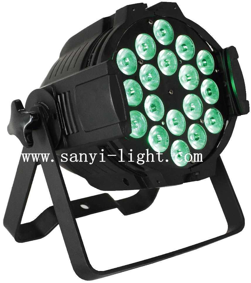 LED 18颗全彩帕灯