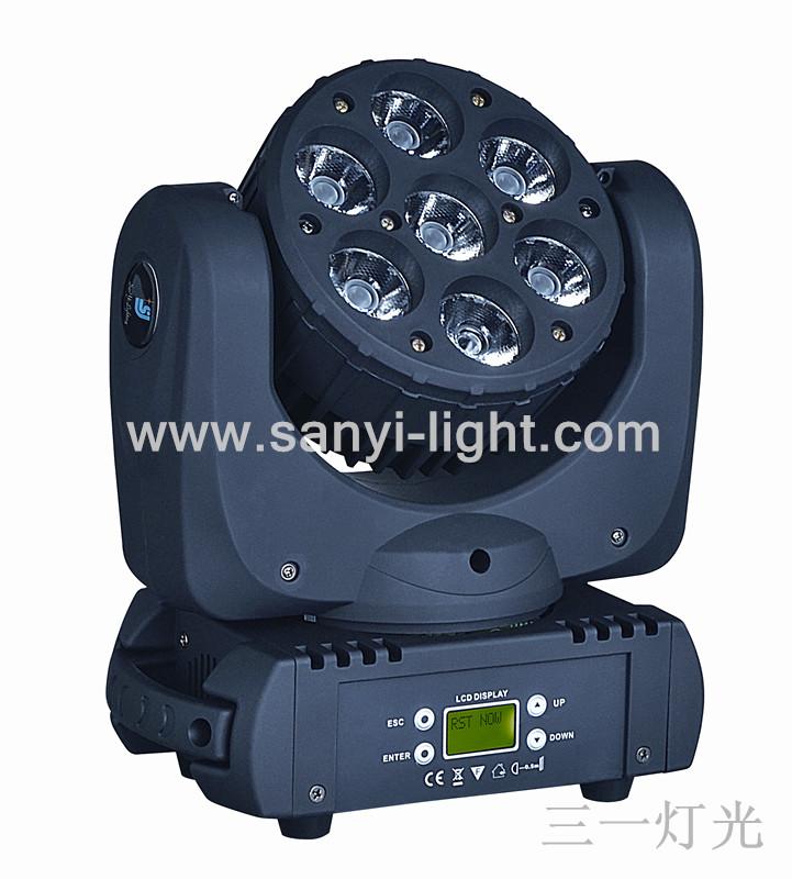 LED七颗12W摇头灯