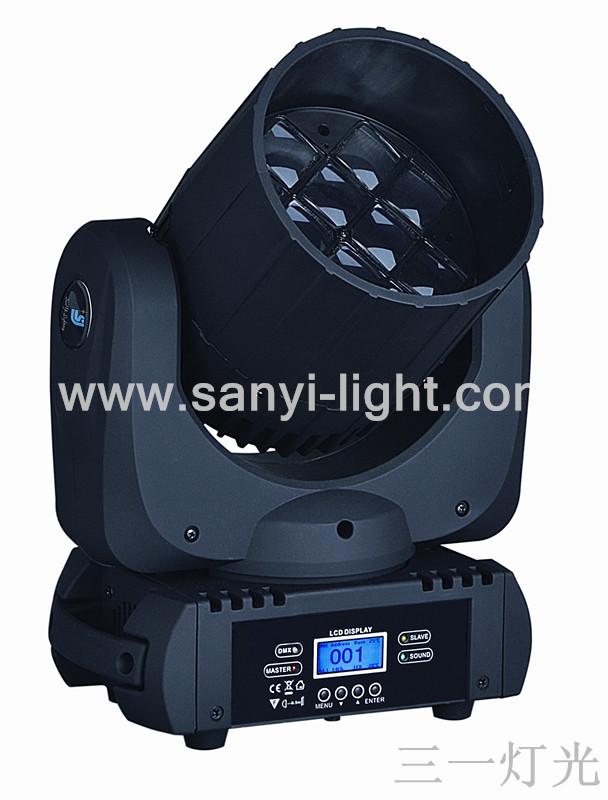 无极剑-LED12颗旋转摇头灯