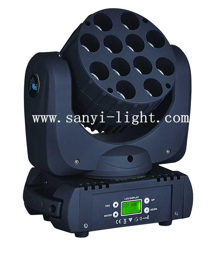 12颗LED摇头光束灯